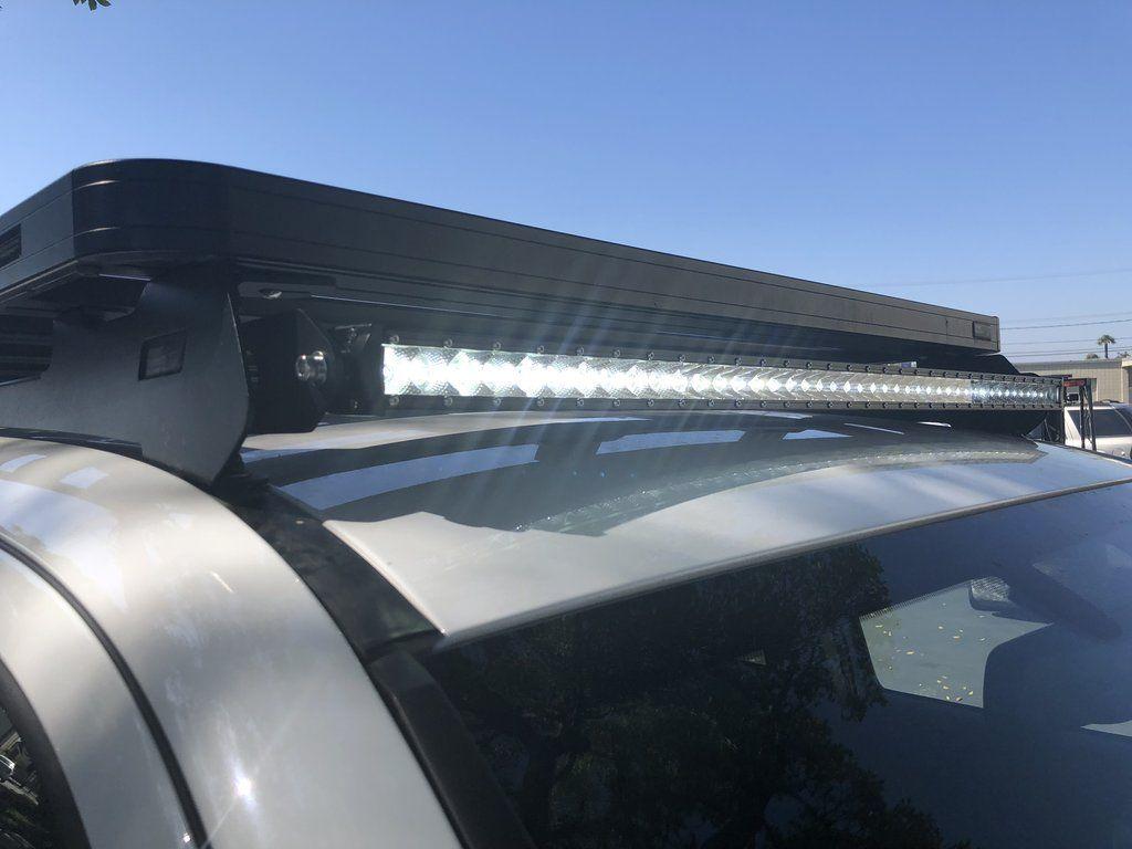 Front Runner Slimline Roof Rack Led Bar Brackets Combo Roof Rack Bar Lighting Toyota Tacoma