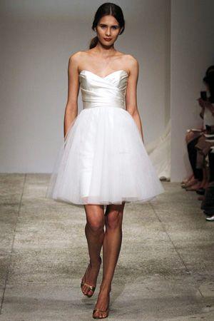 short wedding dress - brides of