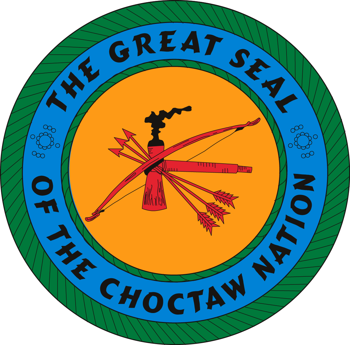 Choctaw Nation Seal Choctaw Nation American Indian Heritage Choctaw