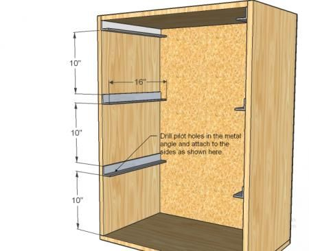 "This is the link to the plans for the ""laundry basket dresser""   -via www.ana-white.com"