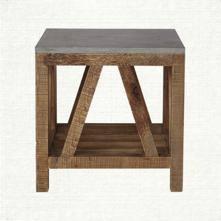 Holden End Table With Images Coffee Table Square End Tables Arhaus Furniture