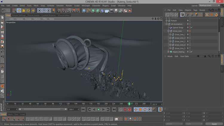 Power Of Sweep NURBS (Project File)   Cinema 4d tutorial, Cinema 4d, Maxon cinema 4d