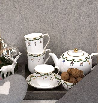 royal copenhagen star fluted christmas geschirr. Black Bedroom Furniture Sets. Home Design Ideas