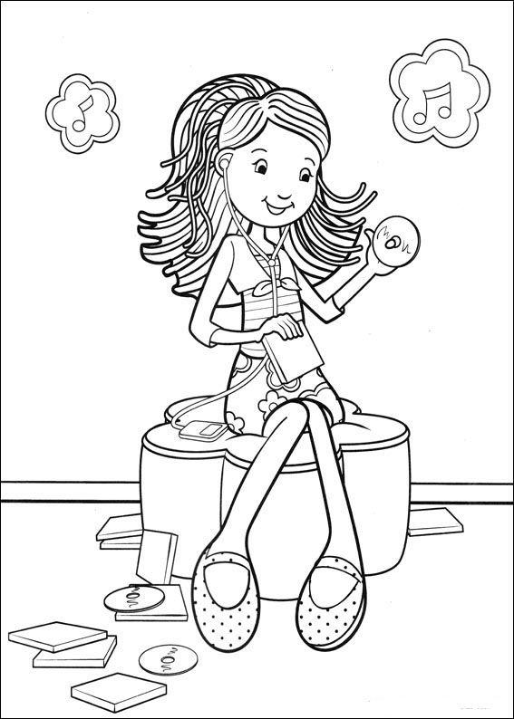 Groovy Girls 20 Ausmalbilder für Kinder. Malvorlagen zum ...