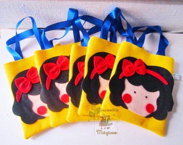 Bolsa De Festa Infantil : Imagem relacionada festa princesas bolsa