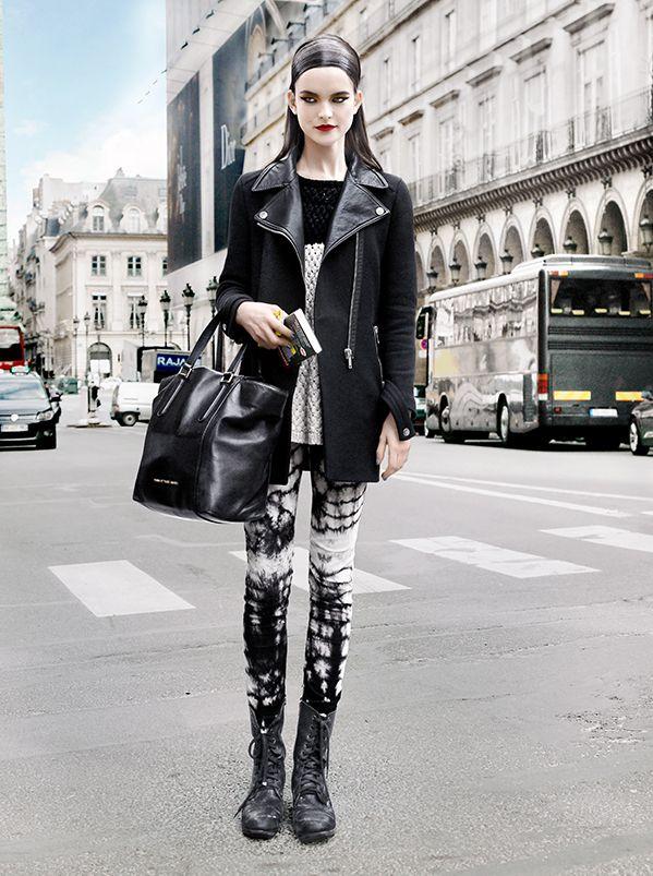 Zoe Colivas at Paris Fashion Week autumn winter 2013-2014