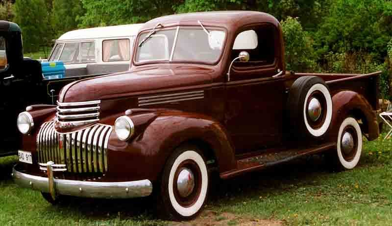 1946 Chevrolet Pickup Bad917 Gmc Automobile Wikipedia The