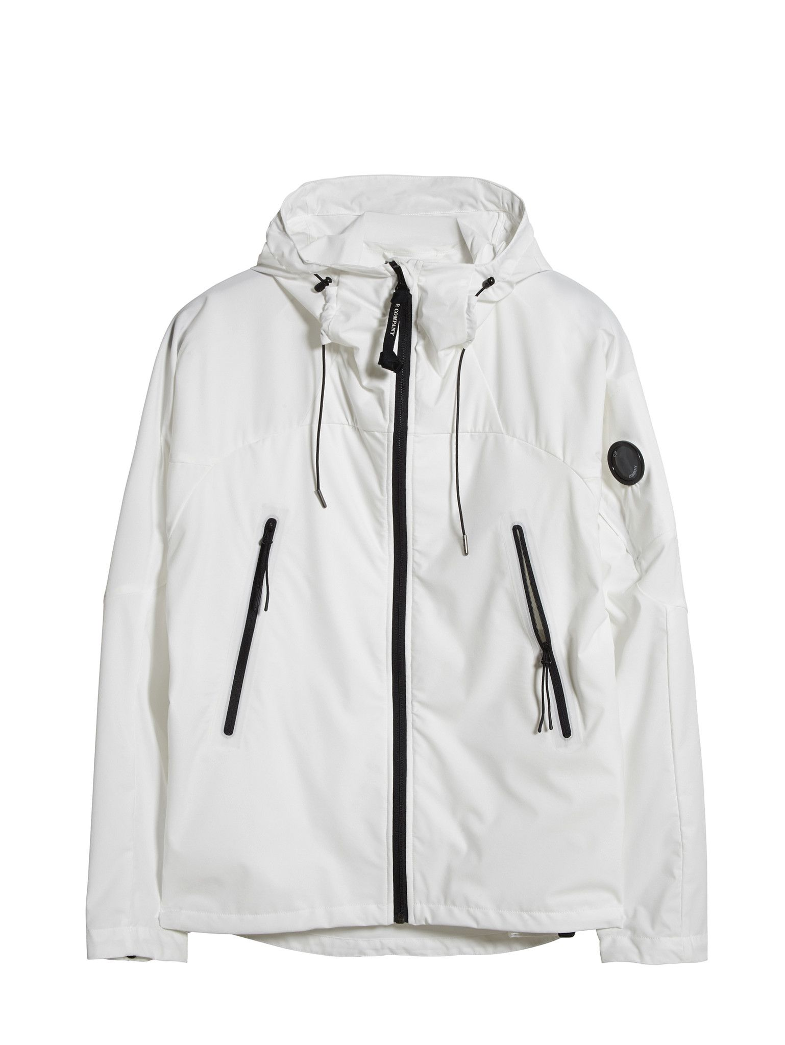C.P. Company T-Mack ML Jacket in White | C.P. COMPANY OUTERWEAR ...