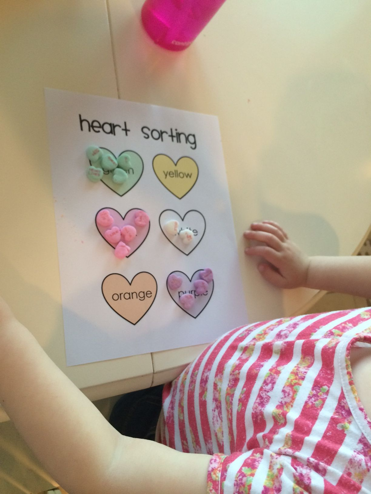 Free Printable Valentine S Day Conversation Heart Sorting