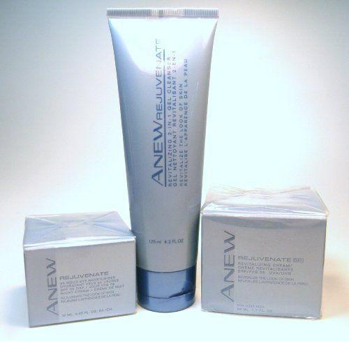 Anew Rejuvenate Eye Moisturizer, 2-in-1 Gel Cleanser & Revitalizing Day Cream by Anew. $29.95