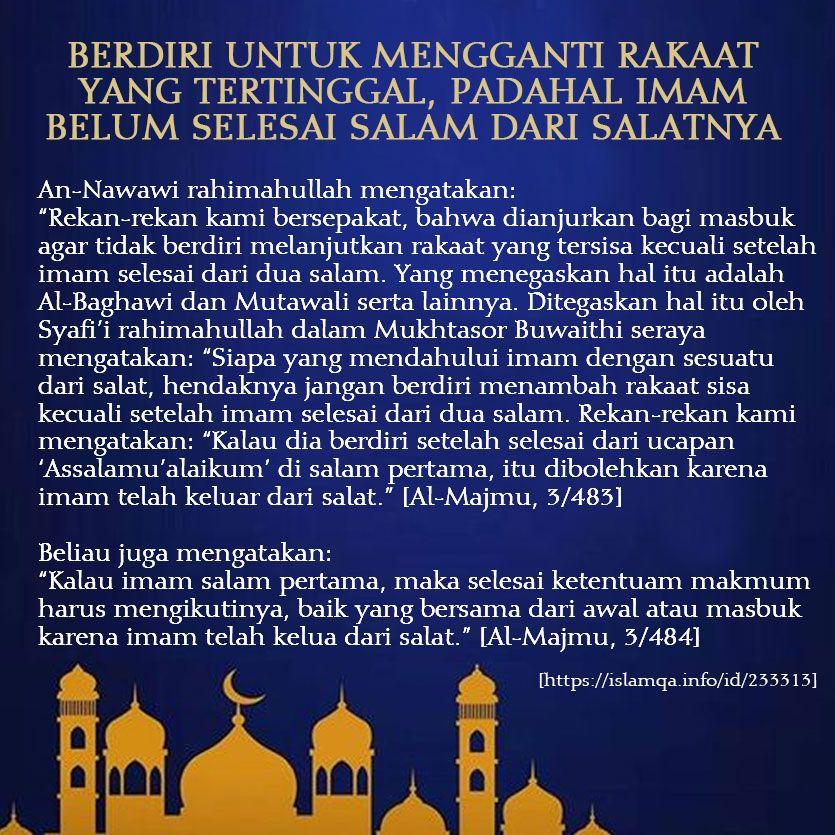 Pin Oleh Bear Di Mutiara Islam Imam Motivasi Islam