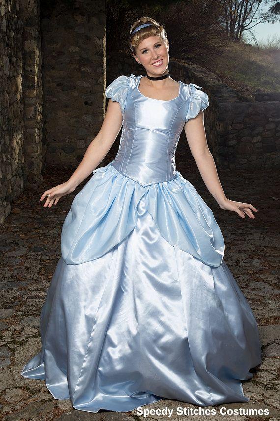 58b04ff1f Cinderella Adult Costume Adjustable and por SpeedyCostumes