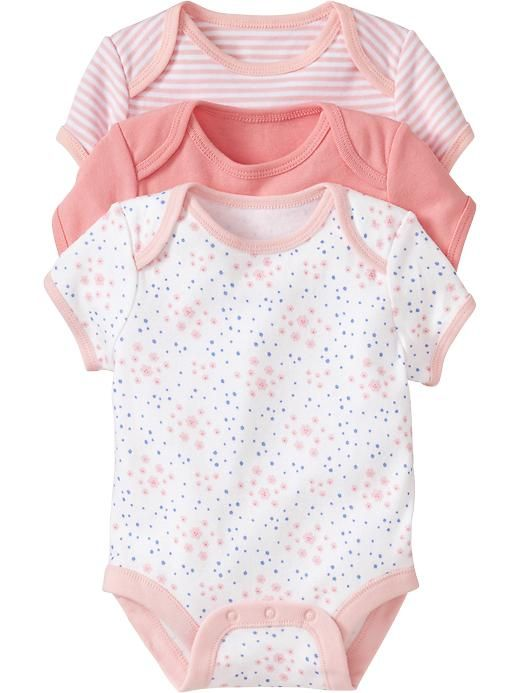 160aded67d61 Jersey Bodysuit 3-Packs for Baby Product Image