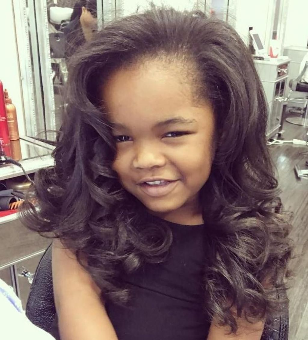 42 Gorgeous Black Hairstyle Ideas For Curly Little Girls ...