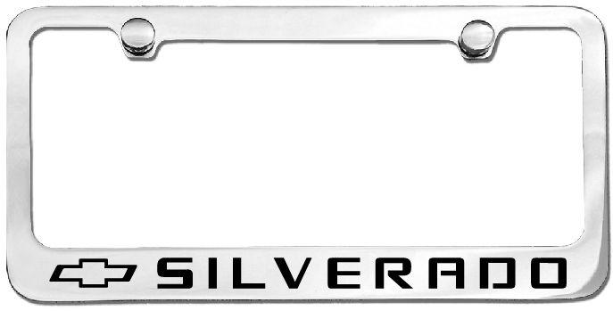 Silverado License Plate Frame Chevy Silverado License