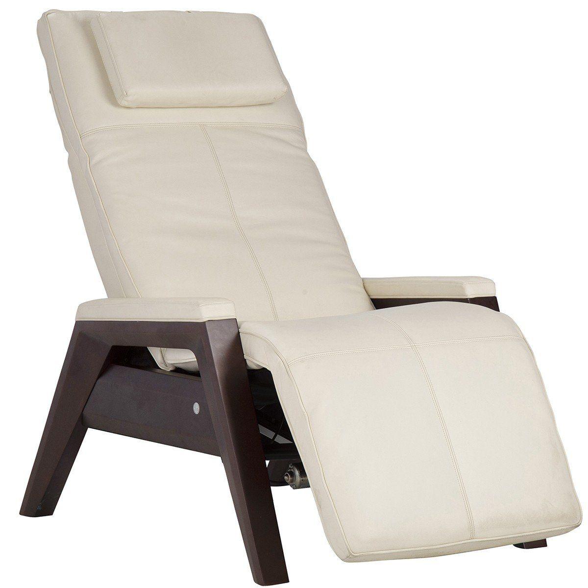 Human touch gravis zero gravity recliner with air massage