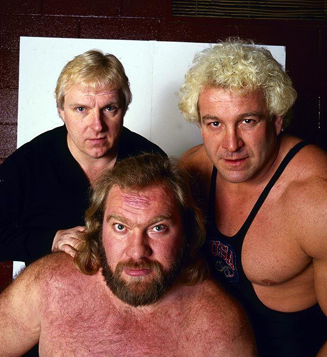 Bobby Heenan, Ken Patera & Big John Studd