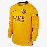 Camiseta Barcelona segunda equipacion 2015/2016 Manga Larga
