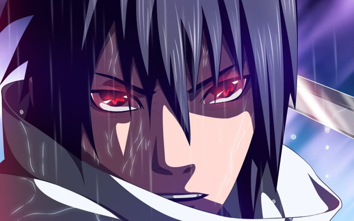 Sasuke Uchiha Mangekyou Sharingan Eyes Anime Hd Wallpaper