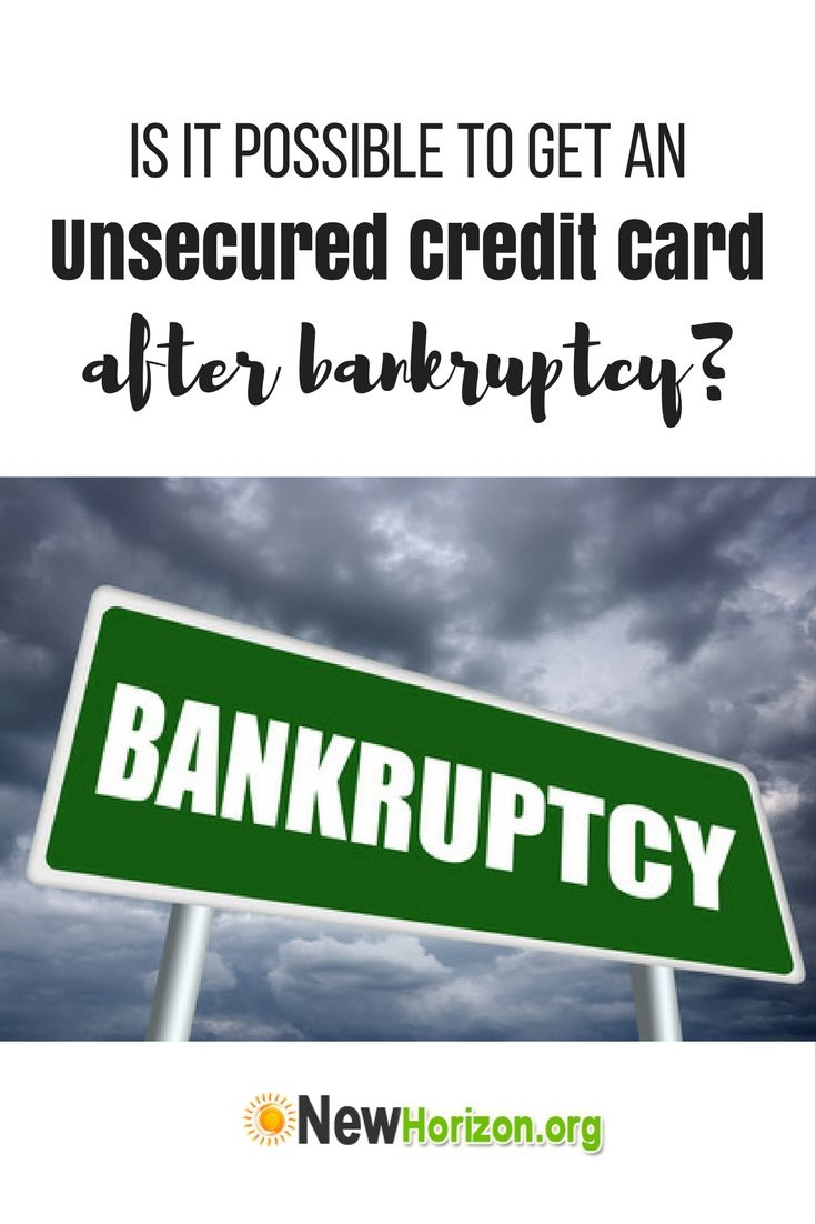 credit cards for good credit after bankruptcy