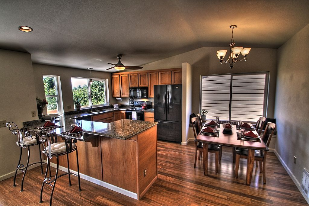 laminate flooring in the kitchen photo compliments jenn c kitchen flooring luxury vinyl on kitchen remodel vinyl flooring id=30109