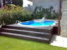 Organizar un patio peque o con una pileta chica buscar for Patios con piscinas desmontables