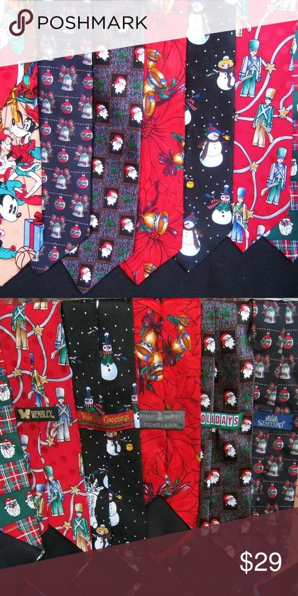 Christmas Ties 2020 7 Novelty Christmas Ties: Disney, Talbot, Stafford in 2020