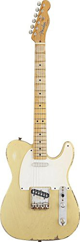 Fender Road Worn® '50s Telecaster® Electric Guitar, Blonde, Maple Fretboard