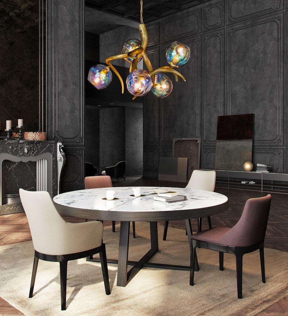 Contemporary Lighting Brand Van Egmond Modern Dining Room Lighting Chandelier In Living Room Modern Living Room Lighting