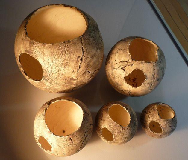 Die Keramik-Pflanzkugeln eignen sich für eine individuelle - kugeln fur garten