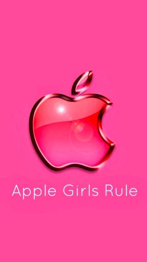 Apple Girls Rule Apple Iphone Wallpaper Hd Apple Logo Wallpaper Iphone Apple Wallpaper Iphone