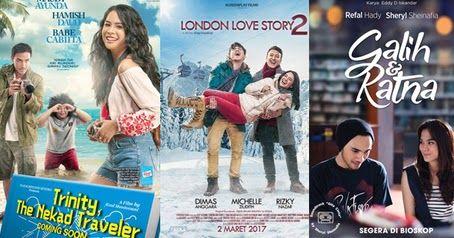 Daftar Film Bioskop Indonesia Terbaru Terpopuler 2017 Lengkap