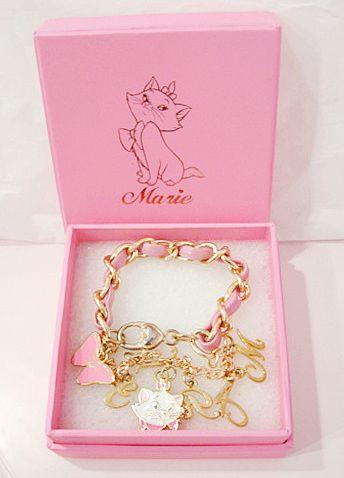 Disney Inspired Aristocats Marie Charm Bracelet