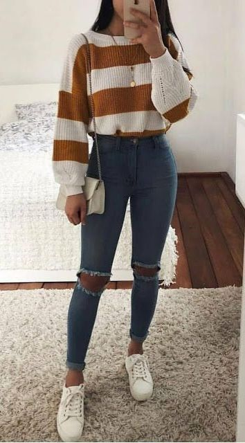 31 Trendy Casual Outfit Ideas To Upgrade Your Wardrobe Female Zone In 2020 Winter Fashion Outfits Cute Casual Outfits Trending Fashion Outfits