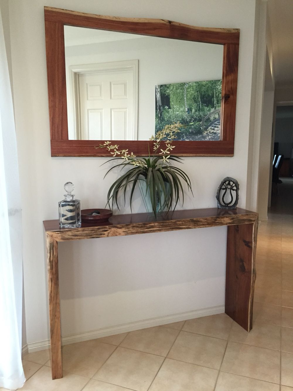 Blackwood hall table & matching mirror (With images) | Hall table