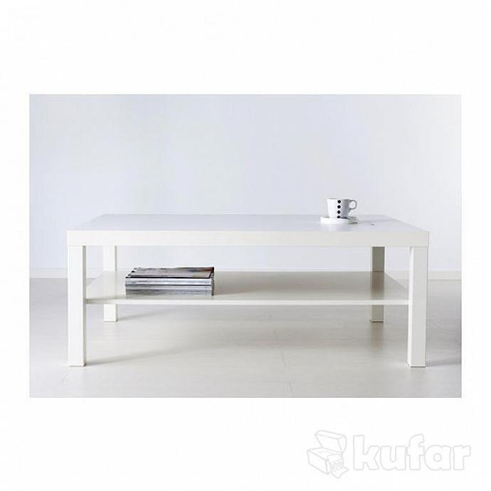 Lack Coffee Table Black Brown 118 X 78 Cm: Журнальный стол