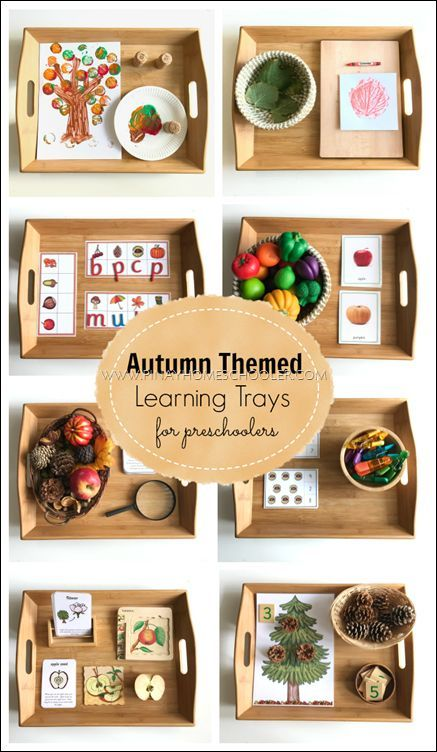 Photo of Montessori Inspired Autumn Themed Learning Activities