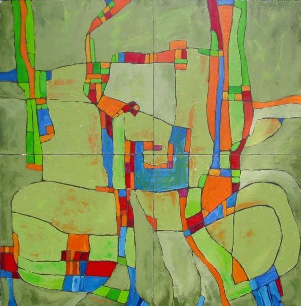 Abstract And Post Modern Art Geometry Art Postmodern Art Abstract