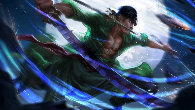 Roronoa Zoro Katana One Piece Anime 3840x2160 4k Wallpaper Roronoa Zoro Zoro One Piece One Piece Anime