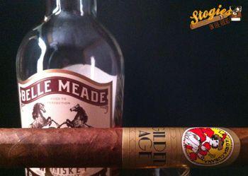 La Gloria Cubana Gilded Age paired with Belle Meade Bourbon