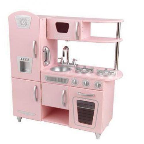 Spelen > Groot speelgoed > Webshop Vintage keuken roze   Verwende apen