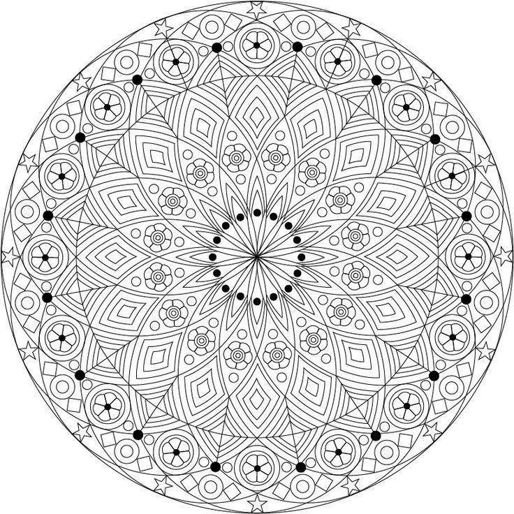 Pin Von Elisabeth K Auf Mandalas Intricate Ausmalbilder Ausmalen Zentangle Muster