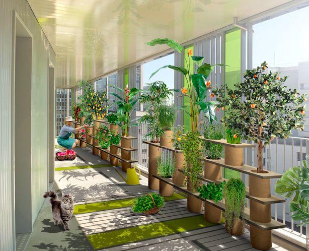Modular Planters & Stackable Container Garden Indoor Outdoor Gardening System