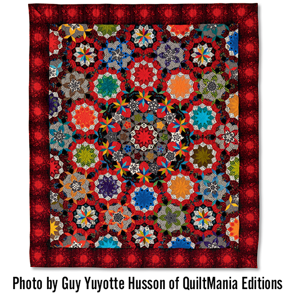 The Can Can Quilt Pattern | Millefiori quilts | Pinterest