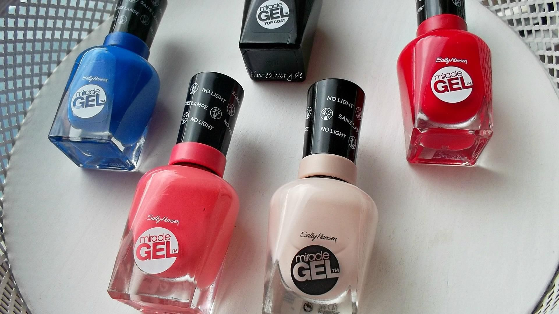 Cute Sally Hansen Miracle Gel Birthday Suit tinted ivory