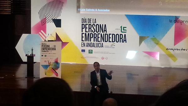 Día de la Persona Emprendedora #Andalucía #Málaga Abril 2015
