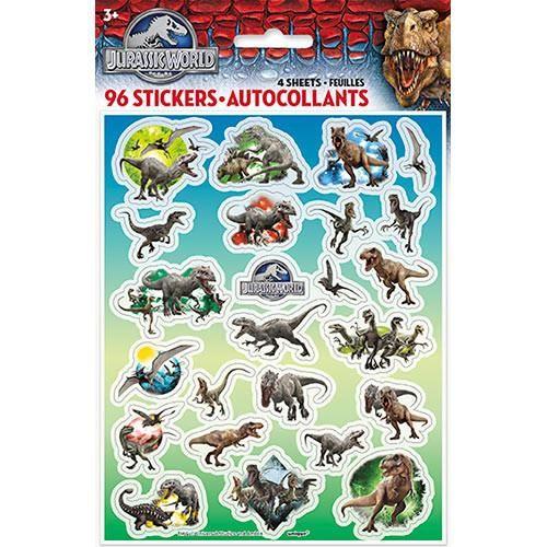Jurassic World Stickers [4 Sheets]