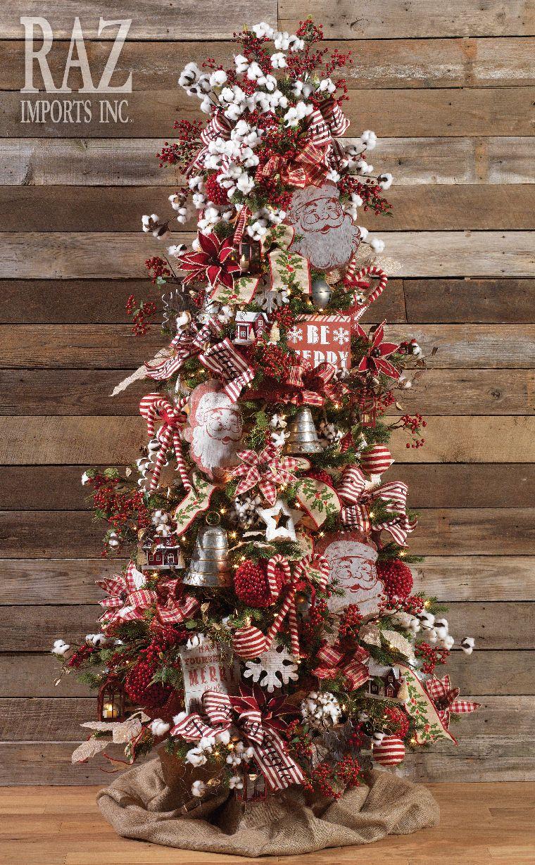 Farmhouse Christmas More Christmas Projects Pinterest  - Primitive Christmas Tree Ideas