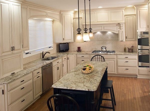 images about kitchens i like on pinterest countertops cabinets and islands: beautiful white kitchen cabinets