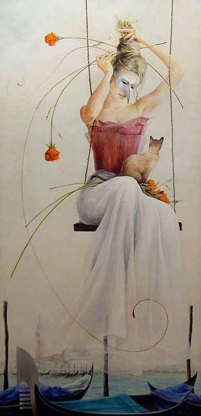 Chelin Sanjuan 1967 Surrealist Painter Art Spanish Artists Art Appreciation